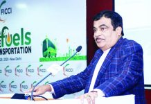 Union Minister for Road Transport & Highways and Micro, Small & Medium Enterprises, Nitin Gadkari addressing at the inauguration of the Conference on Future Fuels for Transportation, in New Delhi on Wednesday.