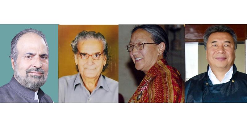 Muzaffar Baig -- Shiv Nirmohi -- Dr Tsering Landol -- Chhewang Motup
