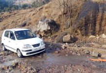 Udhampur-Pancheri-Landhar road in worst condition.