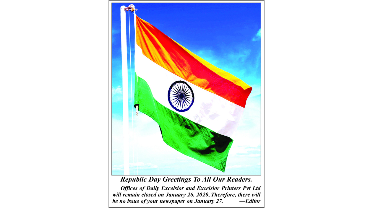 Republic Day Greetings to All Our Readers