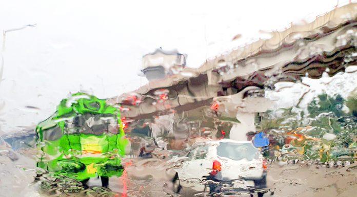 Heavy rains lash Jammu on Tuesday. —Excelsior/Rakesh