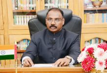 Lieutenant Governor Girish Chandra Murmu delivering message to people on the eve of Republic Day in Jammu on Saturday.