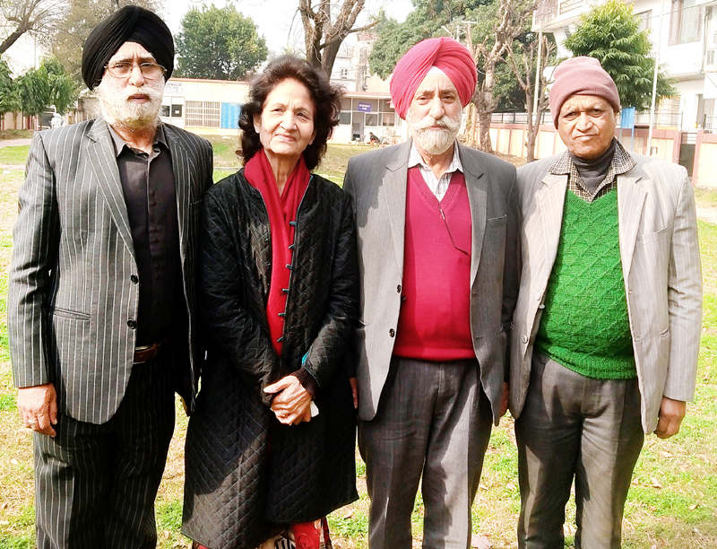 Newly elected members of J&K Senior Citizens' Council.