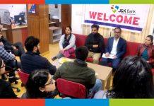Dignitaries during customer education camp at Jammu.