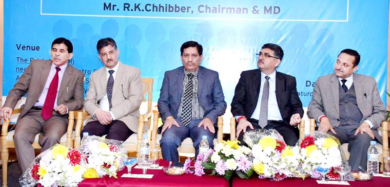 J&K Bank Chairman attending 'Staff Meet' at Gurgaon.