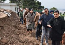 Divisional Commissioner Jammu Sanjeev Verma during visit to Bagh-e-Bahu on Wednesday.