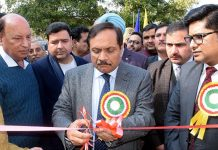 Advisor to Lieutenant Governor, Rajeev Rai Bhatnagar during valedictory function of 31st National Road Safety Week at Jammu.