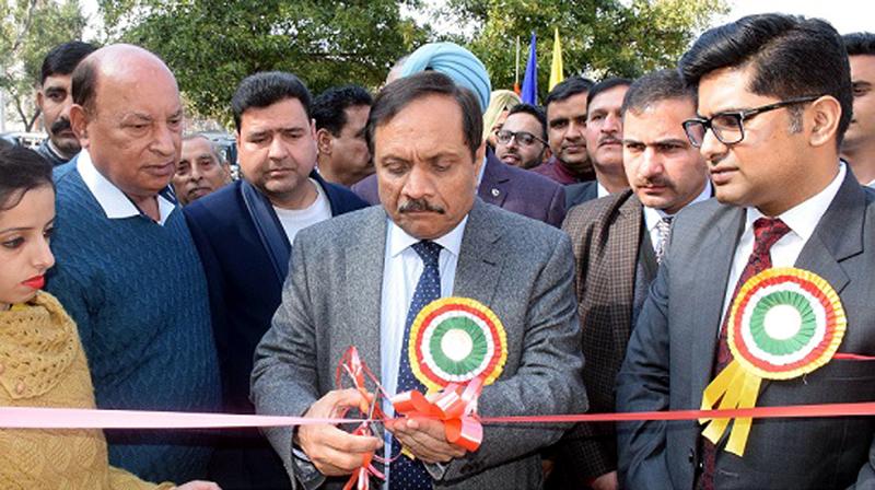 Advisor to Lieutenant Governor, Rajeev Rai Bhatnagar during valedictory function of 31st National Road Safety Week at Jammu.