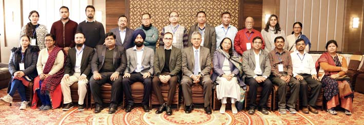Participating faculty members and guests during inaugural function of PDT at IIM Jammu.
