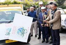 Secretary, FCS&CA PK Pole flagging of awareness campaign in Jammu on Thursday.