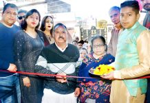 Corporator Ward Number 36 of JMC Subash Sharma inaugurating Studio Big Picture.
