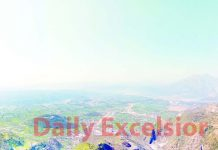 Panoramic view of Reasi town and surroundings. -Excelsior/Karandeep