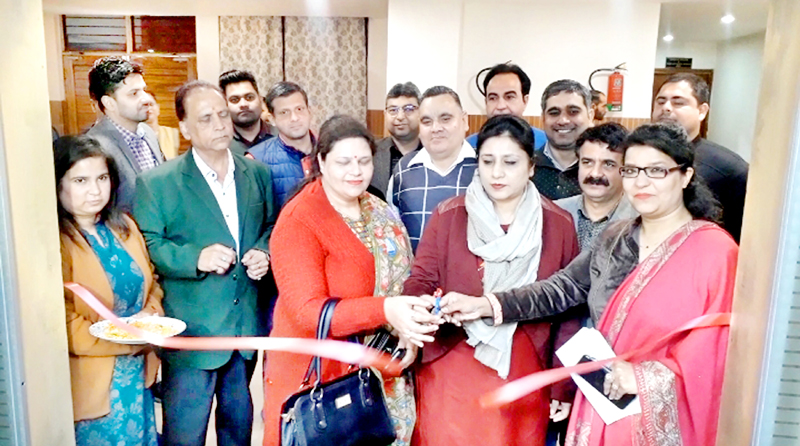 Director I&C Jammu, Anoo Malhotra inaugurating an Orientation Programme at Udyog Bhawan, Jammu.