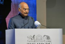 President, Ram Nath Kovind addressing the fourth edition of 'The Huddle' - annual thought conclave of The Hindu, in Bengaluru on Saturday.