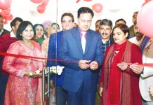 Hirdesh Kumar Singh inaugurating Annual Book Fair at Jammu on Wednesday.