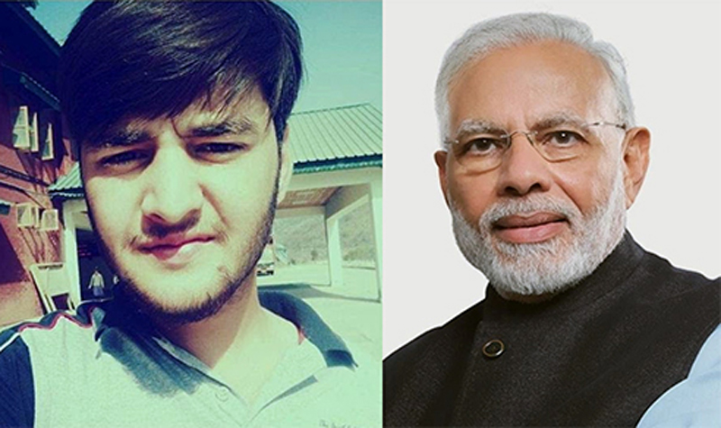 Prime Minister Narendra Modi talked to Banihal youth Nizamur Rehman, who returned from Wuhan recently, on Saturday.