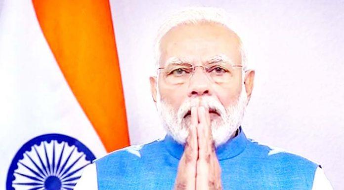 Prime Minister Narendra Modi during address to the nation on Thursday.