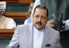 Union Minister Dr Jitendra Singh speaking in Lok Sabha.