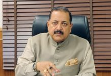 Union Minister Dr Jitendra Singh briefing about the Department of Personnel & Training (DoPT) orders issued on Tuesday in the context of COVID-19.
