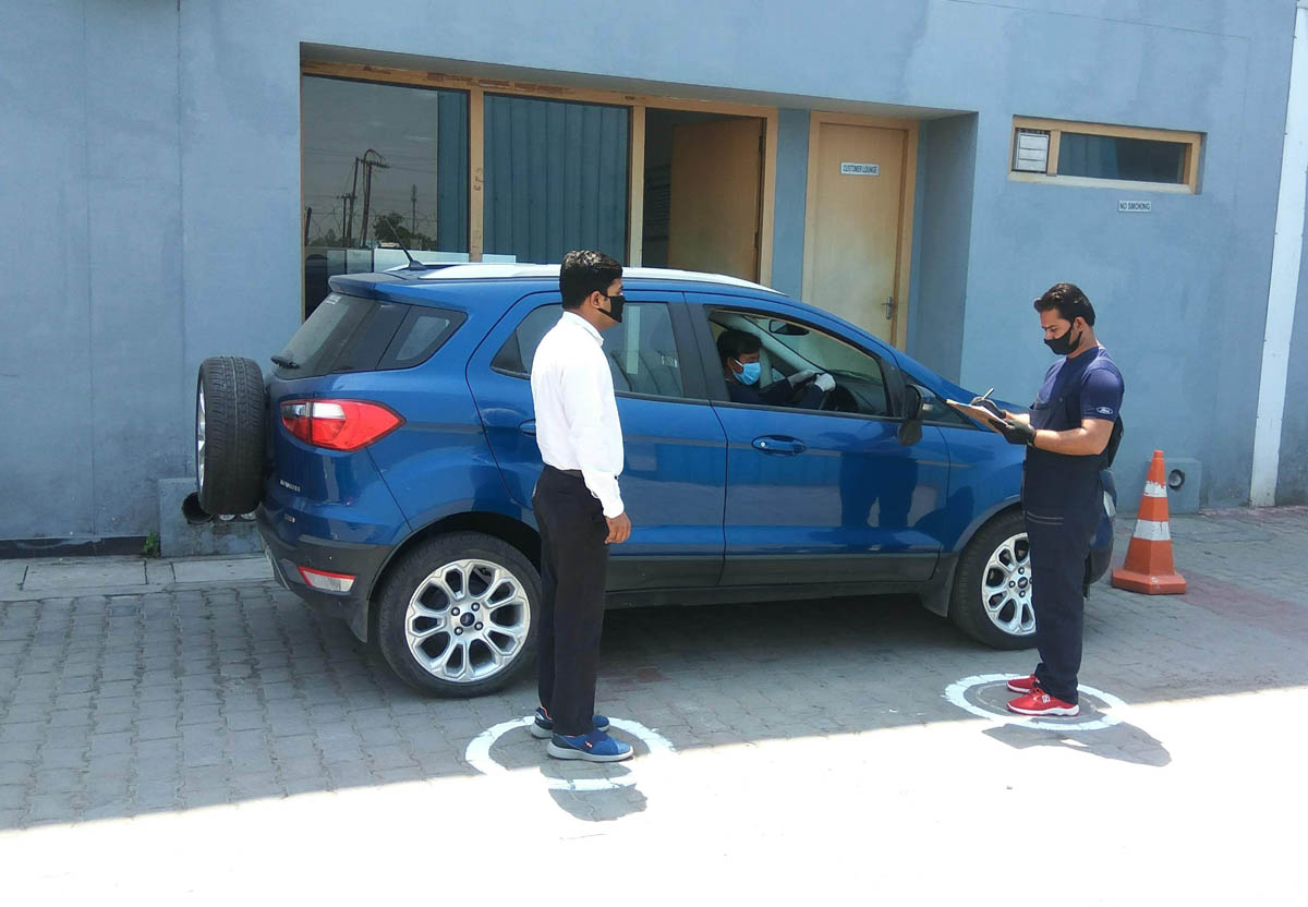 Customer engagement following social distancing after introduction of 'Dial-A-Ford' by Ford India.