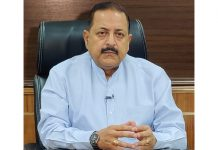 Union Minister Dr Jitendra Singh in an exclusive interview to national channel Republic TV on the new Domicile Law for Jammu & Kashmir, on Sunday.