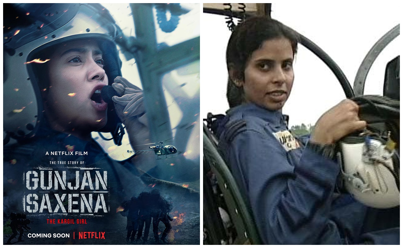 Confirmed Janhvi Kapoor S Gunjan Saxena The Kargil Girl To Release On Netflix