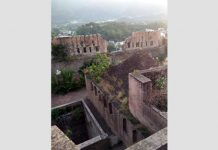 Bhimgarh Fort of Reasi. -Excelsior/Romesh Mengi