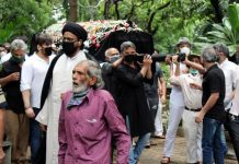 Veteran actor Jagdeep was laid to rest on Thursday.