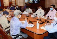 Dr Jitendra Singh reviews COVID-19 status in Kashmir.