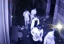 Burglars seen in CCTV camera at Shakti Nagar Udhampur.