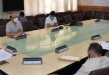 RDD Secretary Sheetal Nanda chairing meeting on Wednesday.