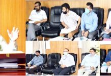 DDC Kishtwar R S Tara chairs meeting regarding preparation of People's Biodiversity Register.