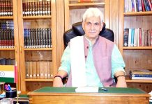 Lieutenant Governor Manoj Sinha in his address to the people of J&K.
