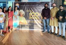 Members of Jammu Diary at the launch of 100th episode of Dogri radio.