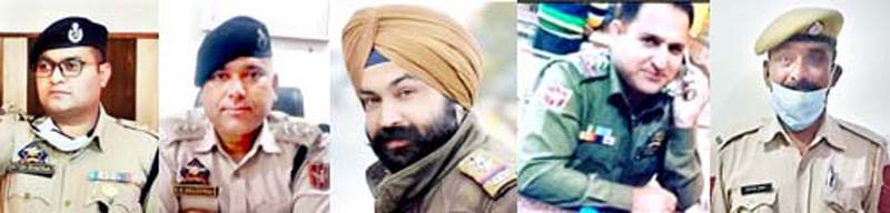Satish Bhardwaj Garu Ram Jaswinder Singh Insp Vijay Thakur Rattan Kumar SDPO Arnas Bhardwaj DySP SHO Ramnagar SHO Reasi HC