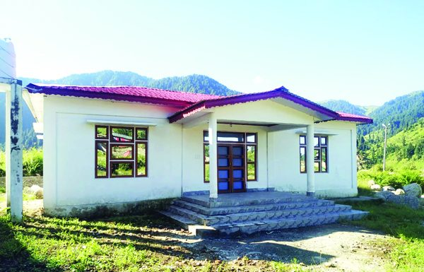 Guest house constructed by RDD at Dudu locked by contractor since March 2018. .