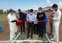DC Budgam, Shahbaz Ahmed Mirza inaugurating Inter Zonal District Level tournament at Budgam.