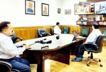 Union Minister Dr Jitendra Singh addressing Bamboo Webinar to mark the 'World Bamboo Day', on Friday.