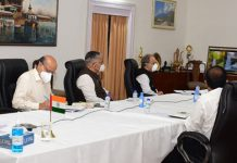 Lt Governor participating in Governors' Conference on NEP.