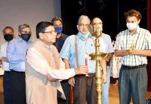 VC-SKUAST-J inaugurating Foundation Day celebrations.
