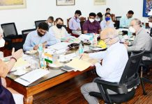 Lt Governor chairing JU Council meeting on Friday.