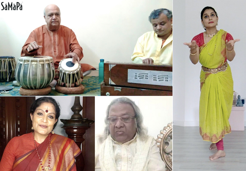 Music and dance legends performing during ongoing SaMaPa Digital Baithak Series.