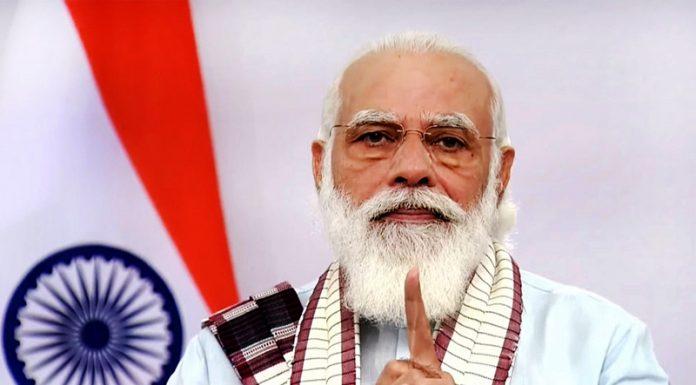 Prime Minister Narendra Modi addressing the nation on Tuesday.