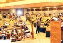 Lieutenant Governor Manoj Sinha addressing national symposium in Srinagar on Thursday.