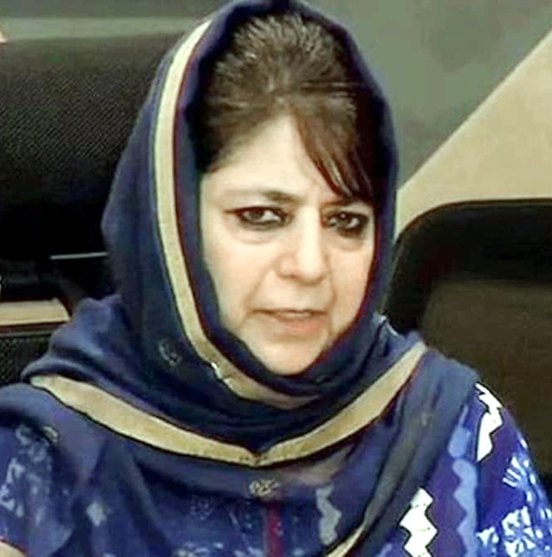 PDP Leaders Meet Mehbooba Mufti For First Time Since August 5