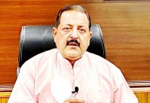 Union Minister Dr Jitendra Singh briefing about some of the major reforms brought about by the Department of Personnel and Training (DoPT), at New Delhi on Monday.