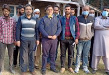 MD SFC, Rajesh Shavan during visit to Lolab and Kupwara areas.