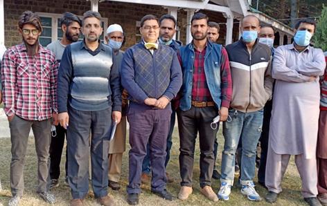 MD SFC, Rajesh Shavan during visit to Lolab and Kupwara areas.