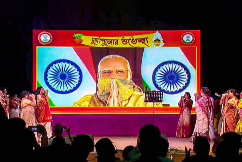 A look at Durga Puja pandals from around the country