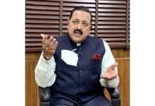 Union Minister Dr. Jitendra Singh in a virtual interview to national TV channel on Thursday.